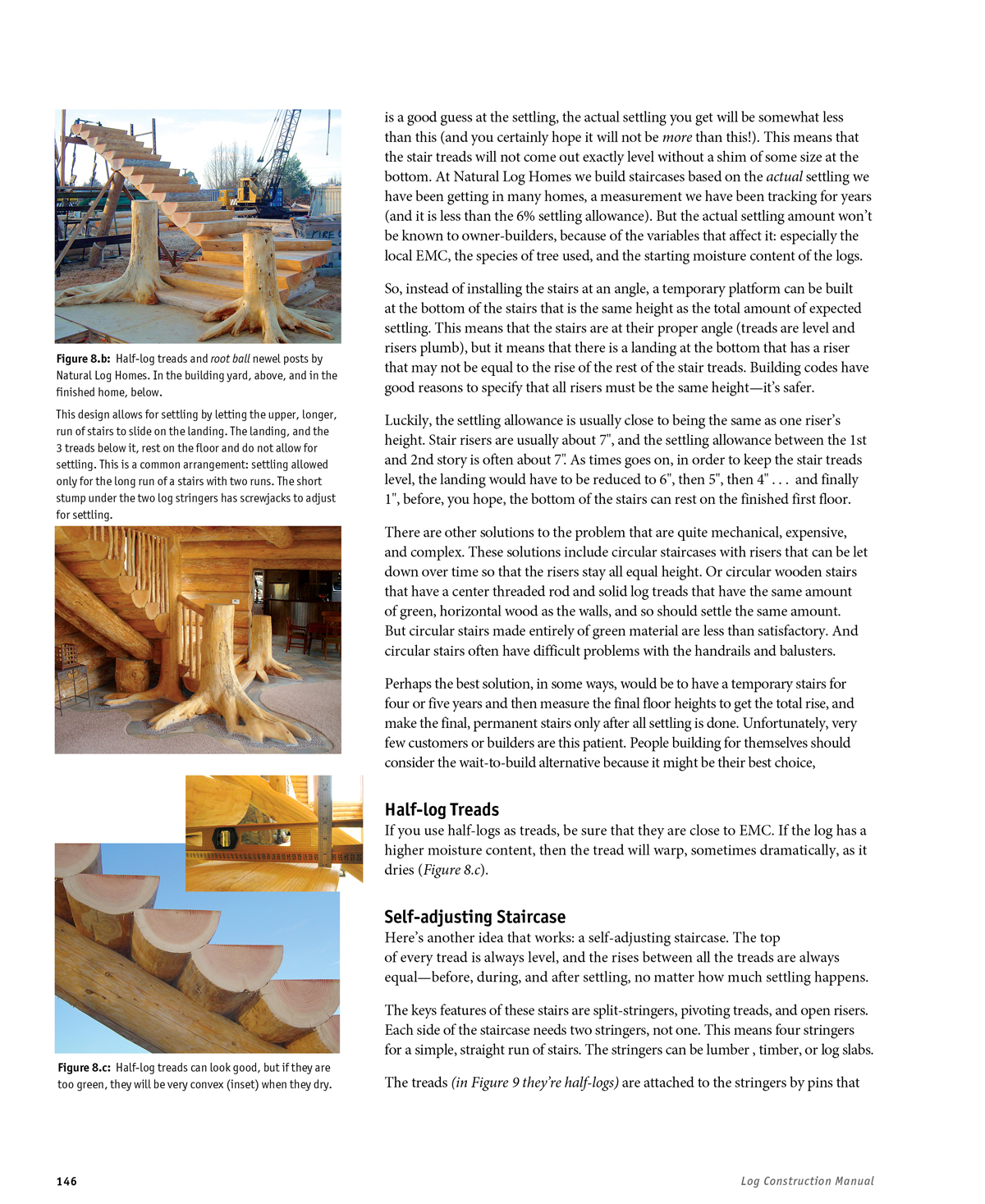 Sample pages log construction manual for Log construction